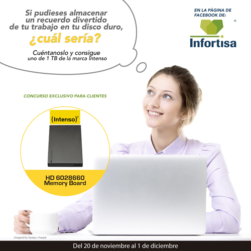 Concurso Facebook Infortisa disco duro Intenso