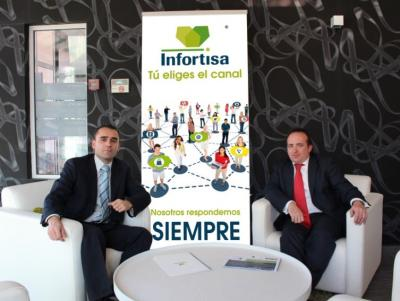 Infortisa incorpora dos delegados en la Zona Norte de España