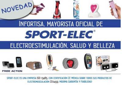 Infortisa, mayorista oficial de la marca Sport-Elec